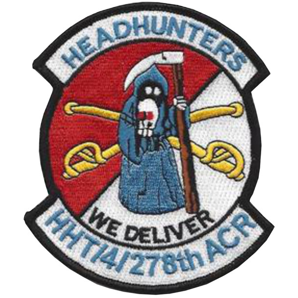 4th Squadron 278th Armored Cavalry Regiment Patch - HHT