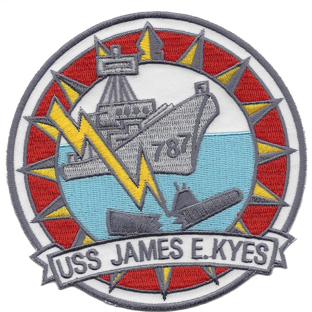 DD-787 USS James E. Kyes Patch - Version A