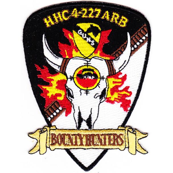 4th Squadron 227th Aviation Regiment Attack Recon Battalion HQ Patch