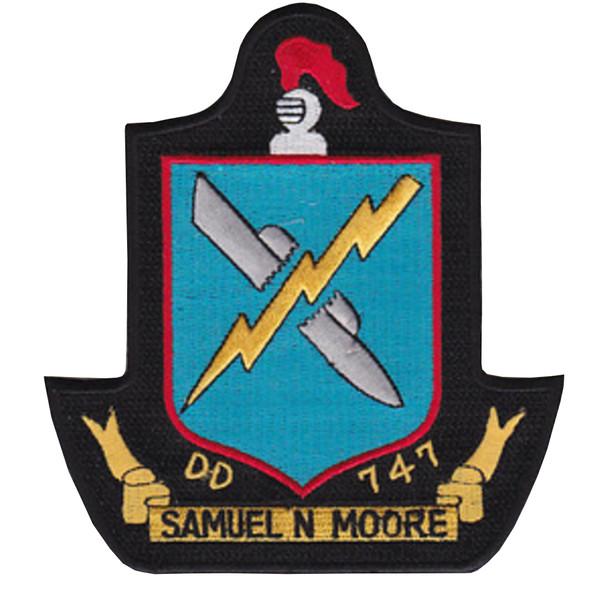 DD-747 USS Samuel Moore Patch