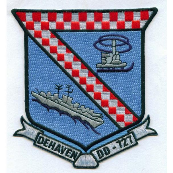 DD-727 USS DeHaven Patch