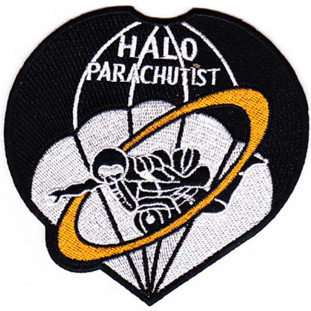 Hight Altitude Low Opening Parachutist Patch HALO