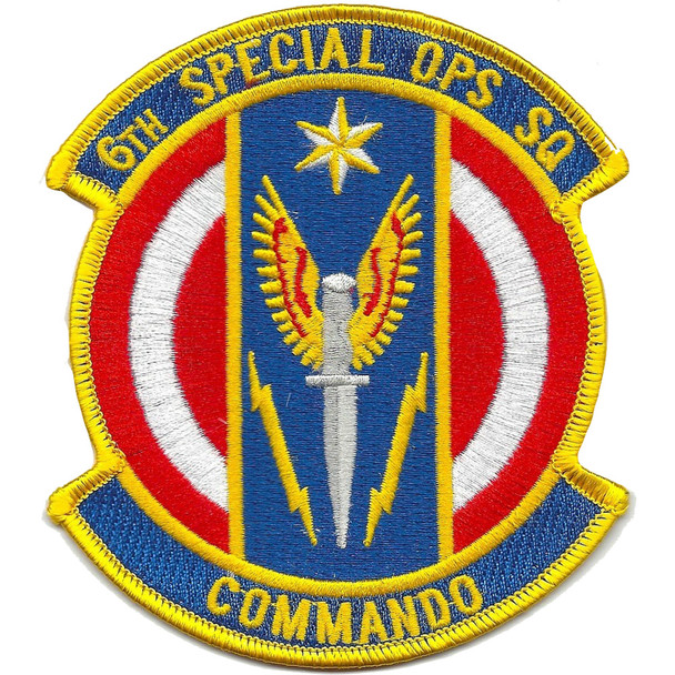 6th Special Operations Squadron Patch