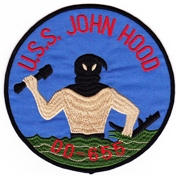 DD-655 USS John Hood Patch