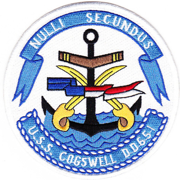 DD-651 USS Cogswell Patch
