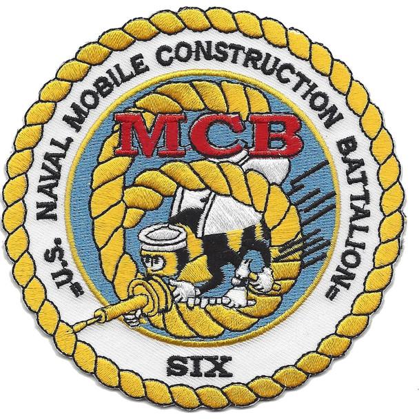6th Mobile Construction Battalion Patch