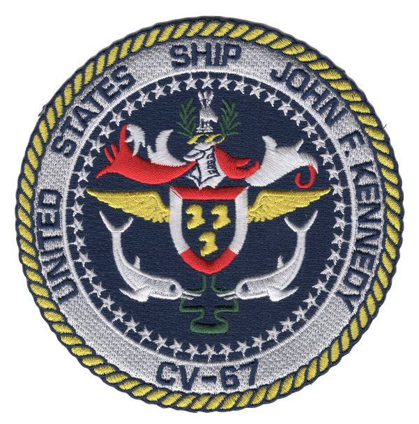 CV-67 USS John F Kennedy Patch