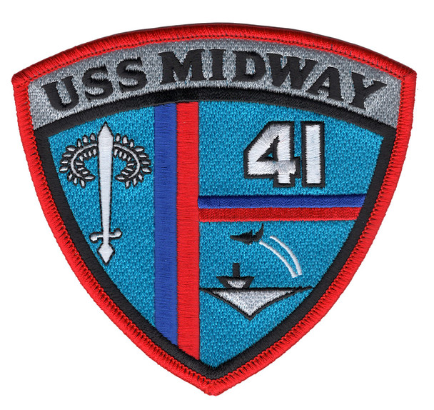 CV-41 USS Midway Patch Image