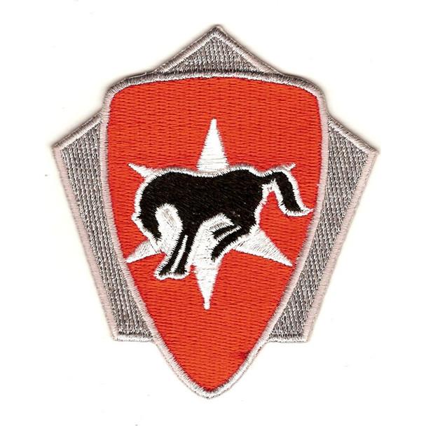 6th Cavalry Brigade Crest Patch