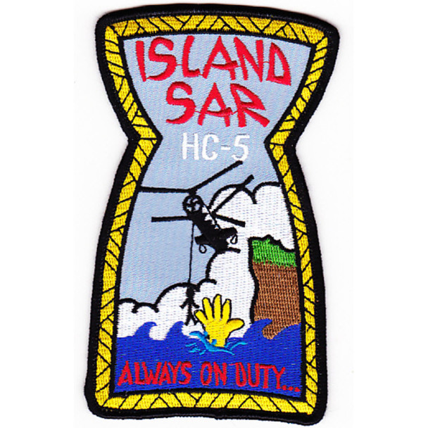 HC-5 Patch Island SAR