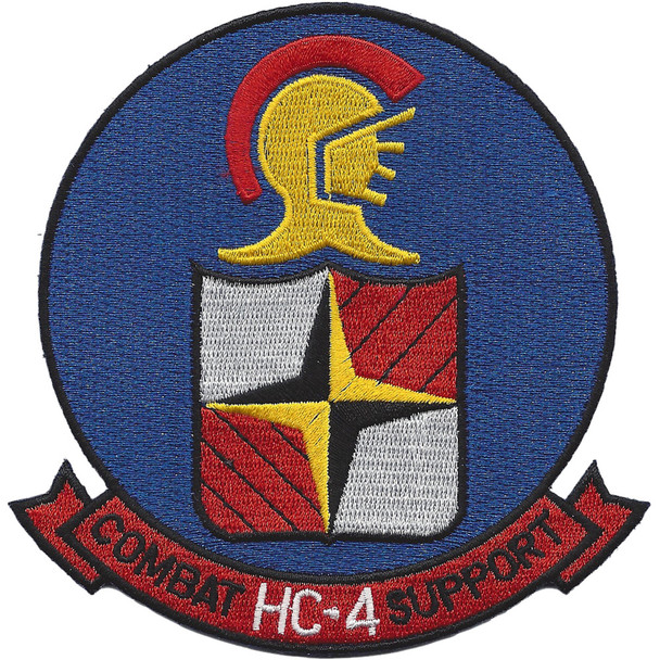 HC-4 Helicopter Combat Support Squadron Patch