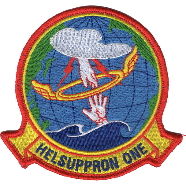HC-1 Helicopter Combat Support Squadron HELSUPPRON 1 Patch