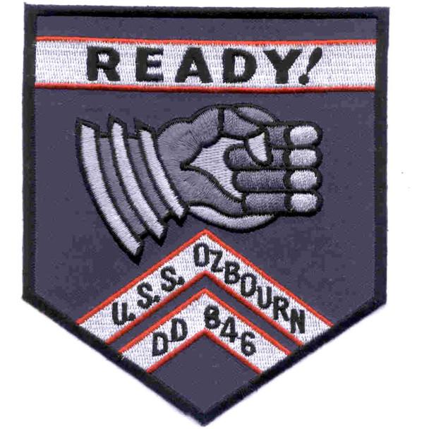 DD-846 USS Ozbourn Patch - Version A