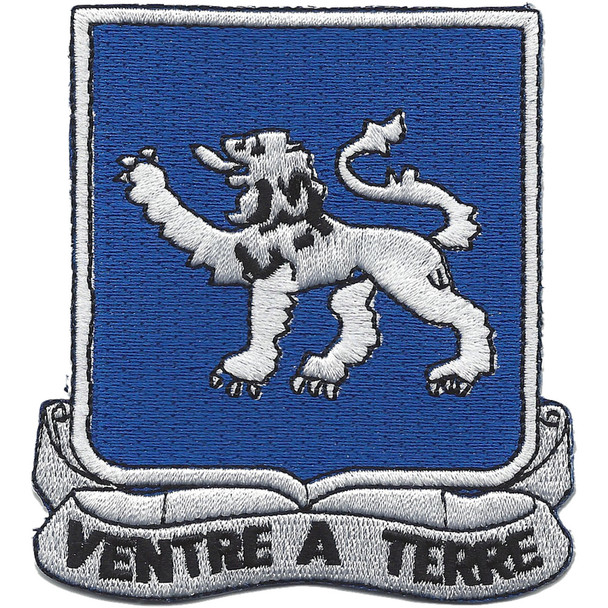 68th Armor Tank Regiment Patch