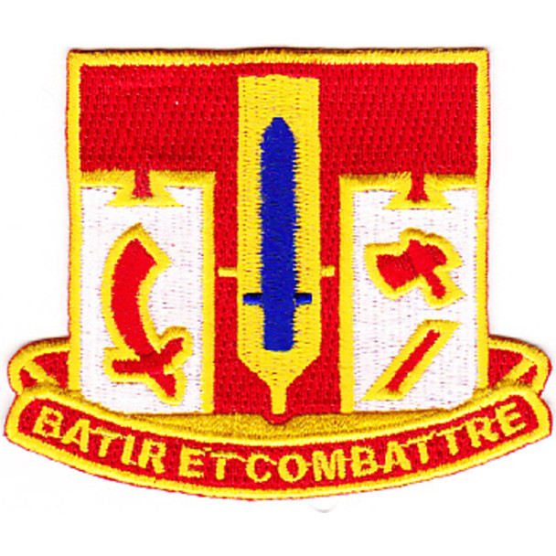 682nd Engineer Battalion Patch