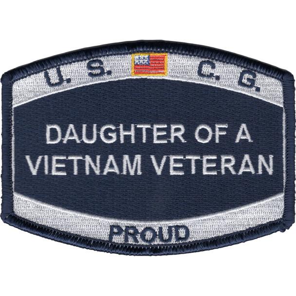 Coast Guard Daughter of a Vietnam Veteran Patch