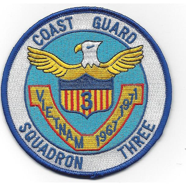 CGRON-3 Squadron Three 1967-1971 Vietnam Patch Vietnam
