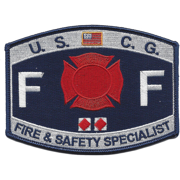 CG-Fire & Safety Specialist Patch