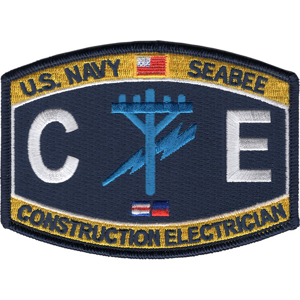 CE Construction Rating Construction Electrician Patch