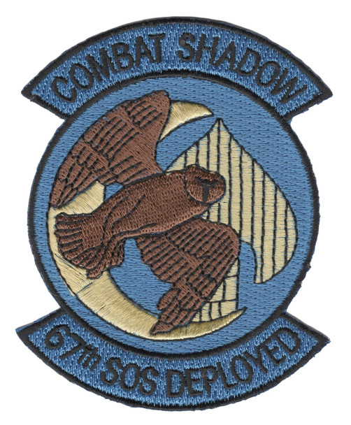67th SOS Special Operations Squadron Patch Combat Shadow