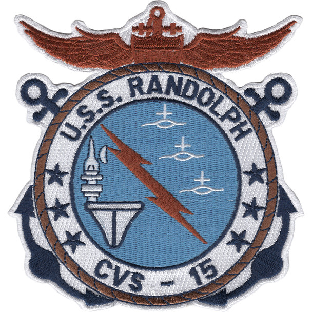 CVS-15 USS Randolph Patch
