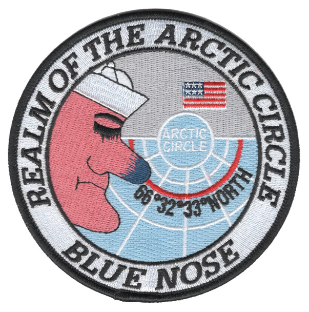 Blue Nose Realm Of The Arctic Circle Patch