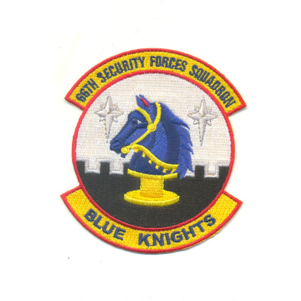 66th Security Forces Squadron Patch - Blue Knights