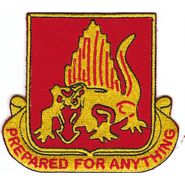 646th Tank Battalion Patch