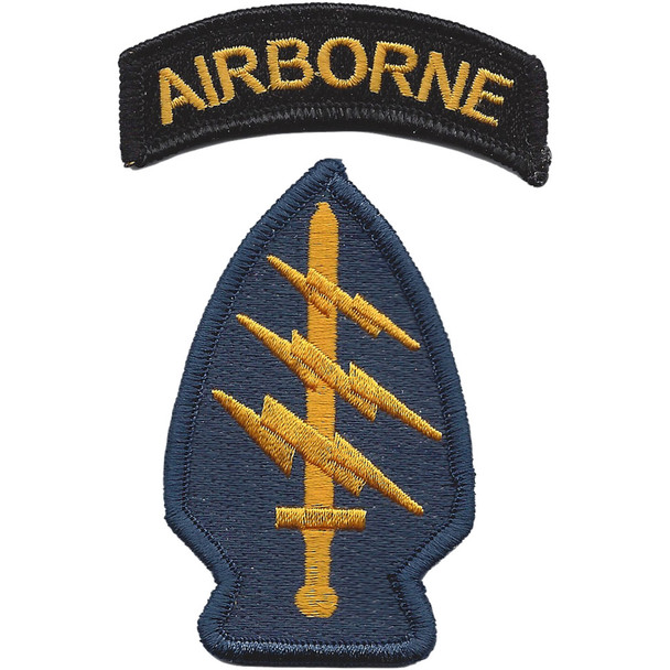 Army Special Operations Command Socom Patch Color