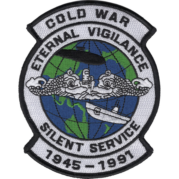 Cold War Silent Service Patch