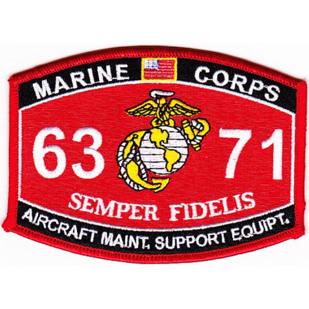 6371 Aircraft Maintenance Support Equipment MOS Patch
