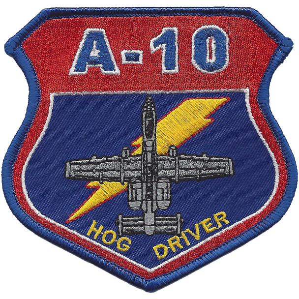 A-10 Hog Driver Patch