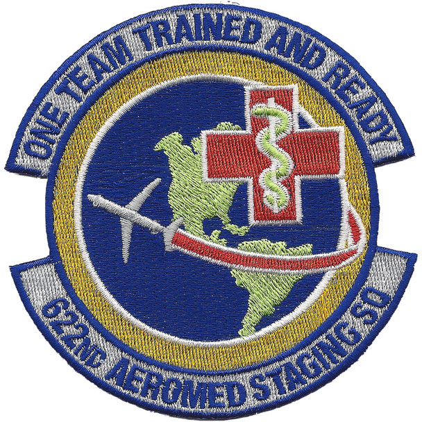 622nd Aeromedical Staging Squadron Patch