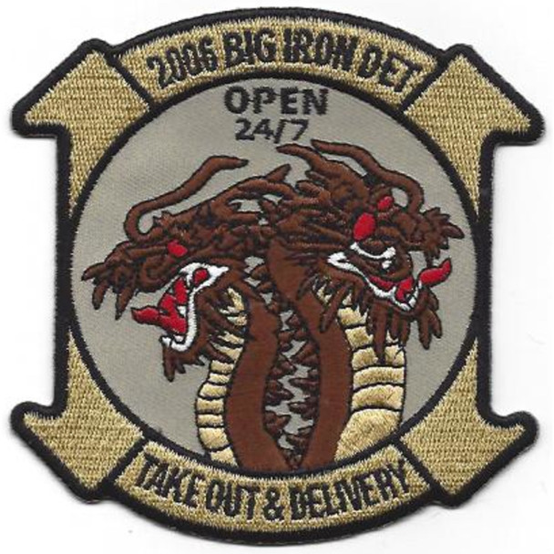 969th Field Artillery Battalion OIF Patch