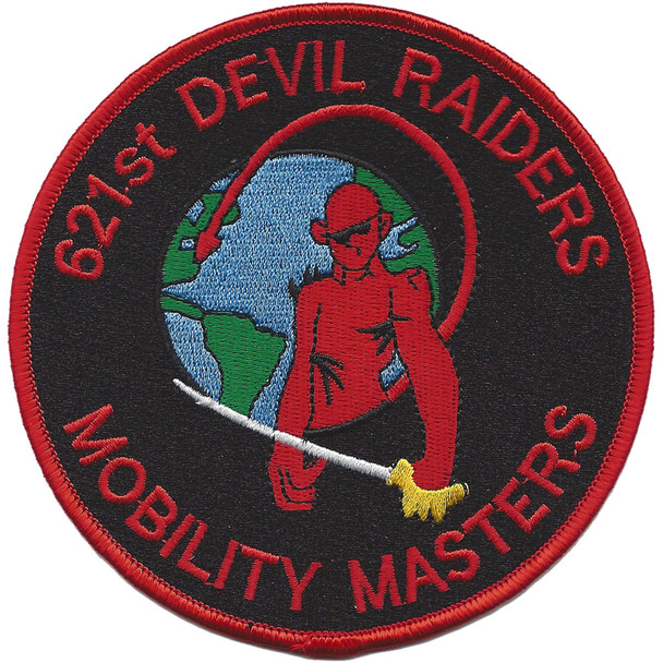621st Contingency Response Wing-Devil Raiders Mobility Masters Patch