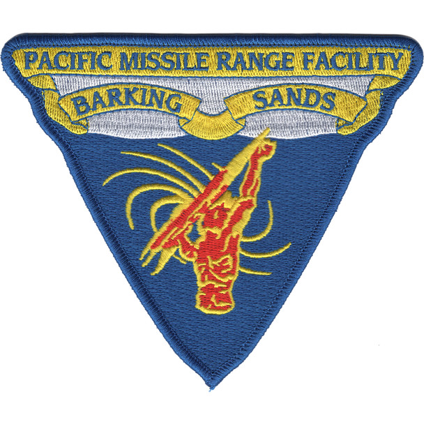 Barking Sands Pacific Missile Range Facility Patch
