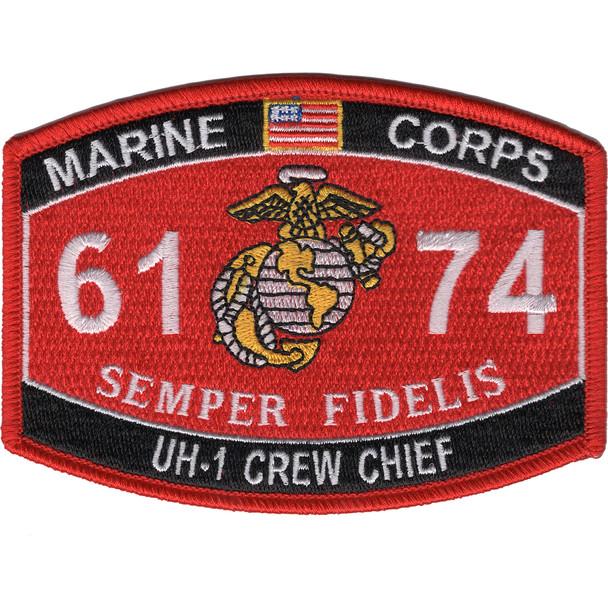 6174 UH-1 Crew Chief MOS Patch
