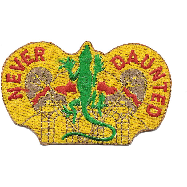 84th Engineering Battalion Crest Patch