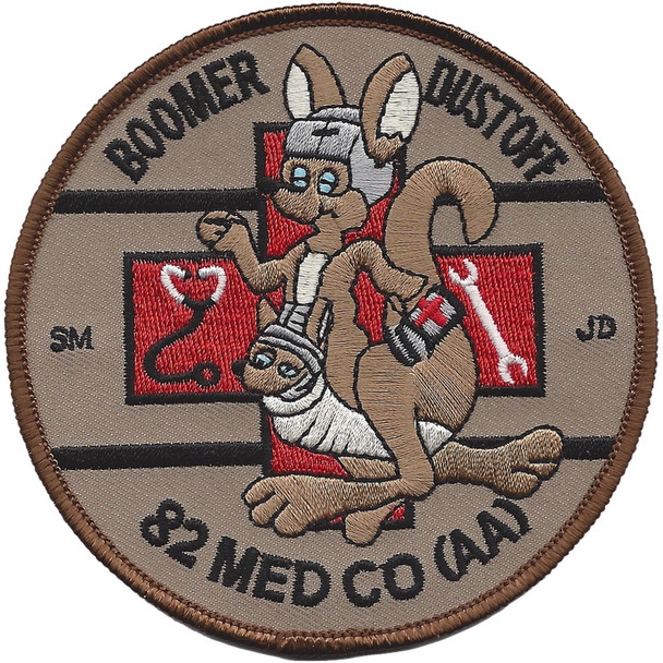 82nd Aviation Medical Company Patch