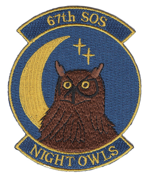 67th SOS Special Operations Squadron Patch