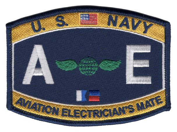AE Aviation Electrician's Mate US Naval Rating Patch