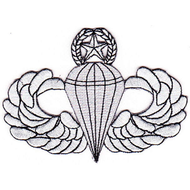 Army Airborne Master Jump Wings Patch