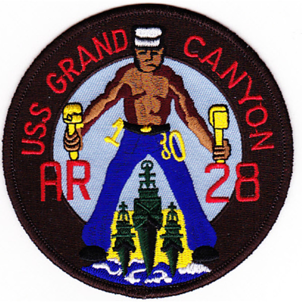 AR-28 USS Grand Canyon Patch