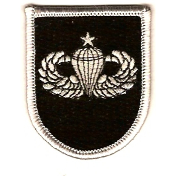 5th Special Forces Group With Senior Jump Wings Patch