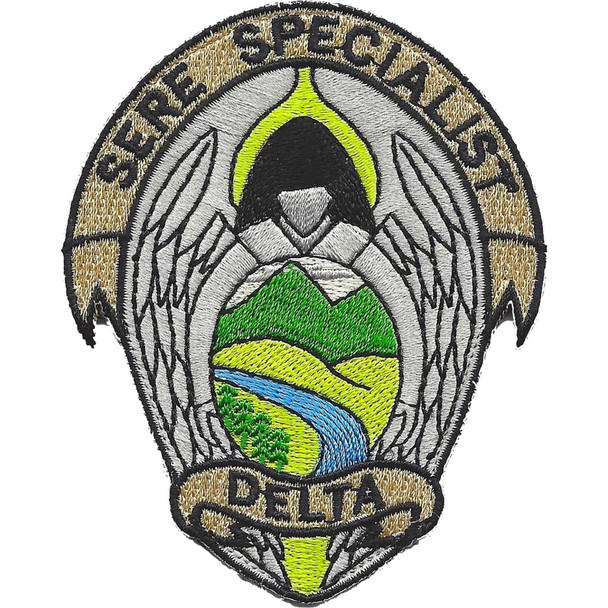 Air Force SERE Specialist Delta Patch Hook And Loop