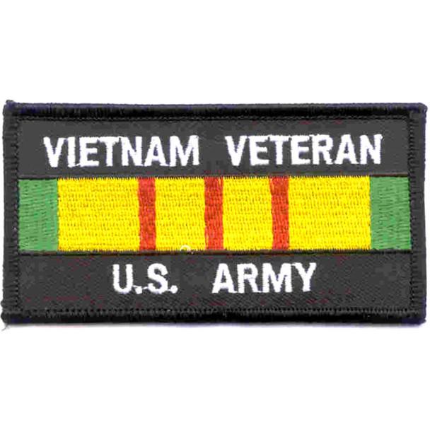 Vietnam Veteran Service Ribbon Army Patch
