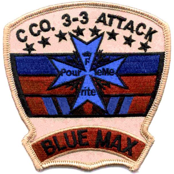 3nd Battalion 3rd Aviation Attack Regiment C Company Patch Desert