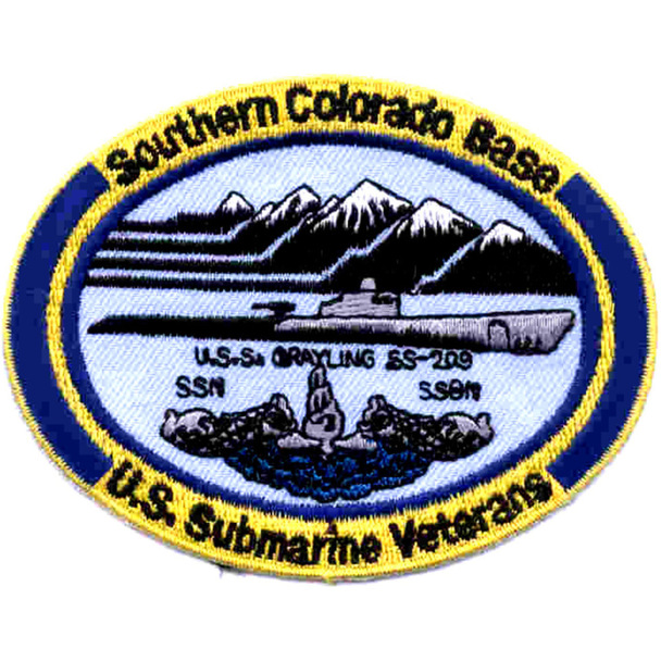 Veterans Base Southern Colorado Patch - Small Version