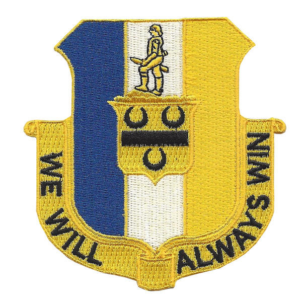 391st Infantry Regiment Patch