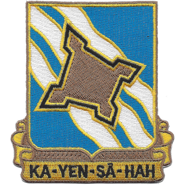 390th Infantry Regiment Patch